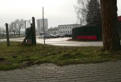 "Eingang zum Szenetreffpunkt \""Thinghaus\"" in Grevesmühlen"