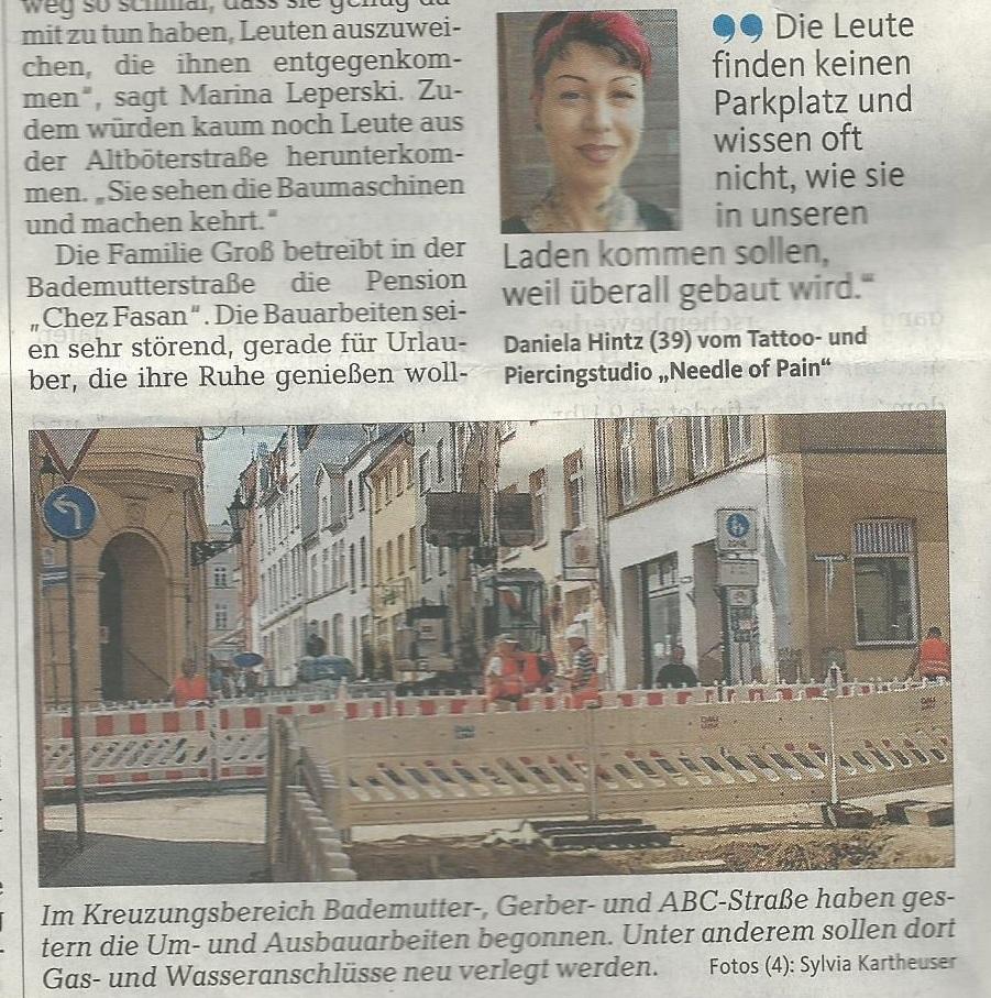 Ostseezeitung Wismar 09.Juli2013